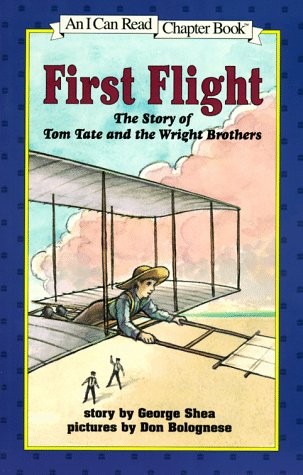 First Flight The Story of Tom Tate and the Wright Brothers  1997 (Reprint) edition cover