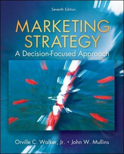 Marketing Strategy A Decision Focused Approach 7th 2011 edition cover