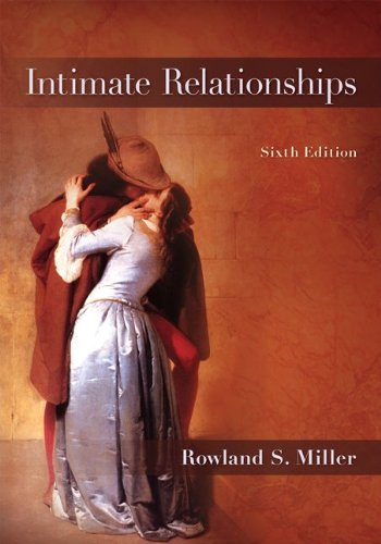 Intimate Relationships  6th 2012 9780078117152 Front Cover