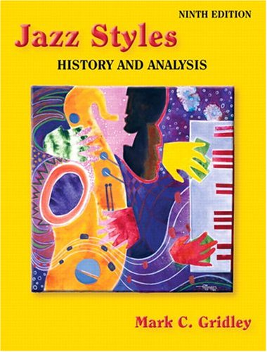 Jazz Styles History and Analysis 9th 2006 (Revised) edition cover