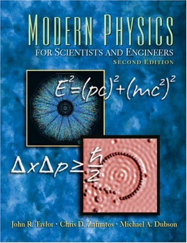 Modern Physics for Scientists and Engineers  2nd 2004 (Revised) edition cover