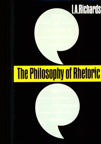 Philosophy of Rhetoric   1965 edition cover