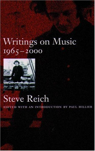 Writings on Music, 1965-2000   2002 edition cover