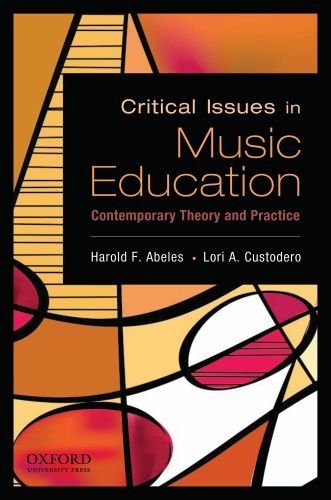 Critical Issues in Music Education Contemporary Theory and Practice  2009 edition cover