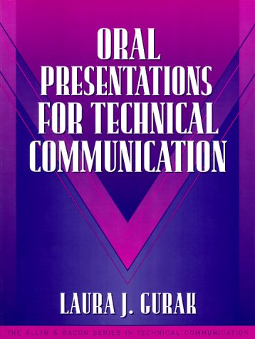 Oral Presentations for Technical Communication   2000 edition cover