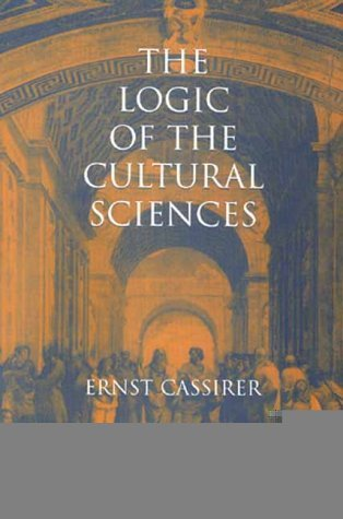 Logic of the Cultural Sciences Five Studies  2000 edition cover