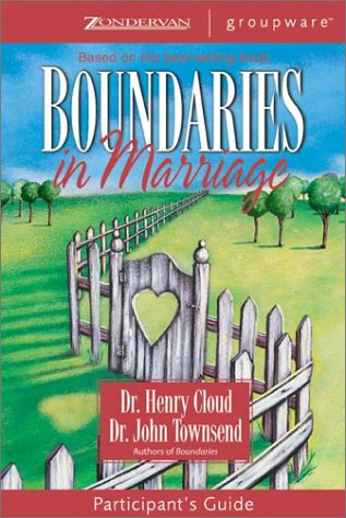 Boundaries in Marriage   2002 9780310246152 Front Cover