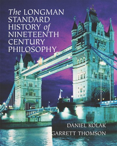 Longman Standard History of 19th Century Philosophy   2008 9780321235152 Front Cover