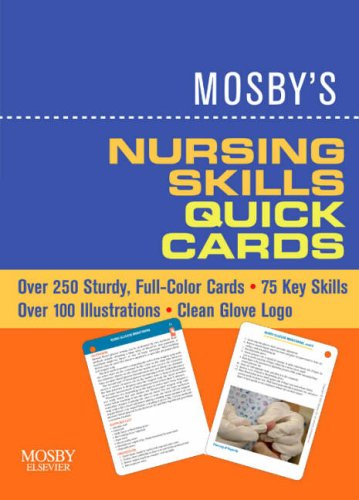 Mosby's Nursing Skills Quick Cards  N/A edition cover