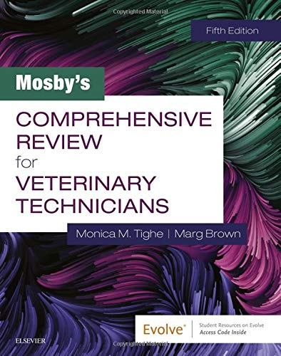 Mosby's Comprehensive Review for Veterinary Technicians  5th 2020 9780323596152 Front Cover