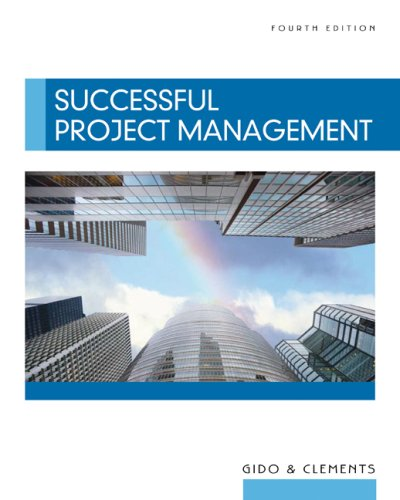 Successful Project Management  4th 2009 edition cover