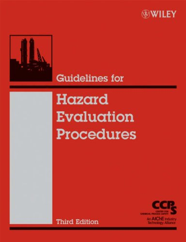 Guidelines for Hazard Evaluation Procedures  3rd 2008 9780471978152 Front Cover