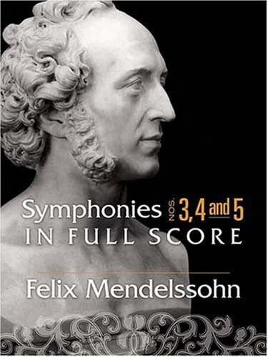 Symphonies Nos. 3, 4 and 5 in Full Score  N/A edition cover