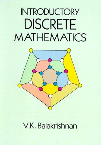 Introductory Discrete Mathematics  Reprint edition cover