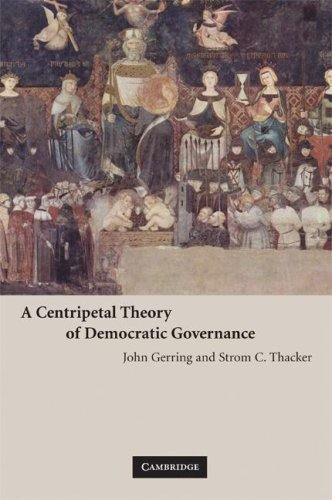 Centripetal Theory of Democratic Governance   2008 edition cover