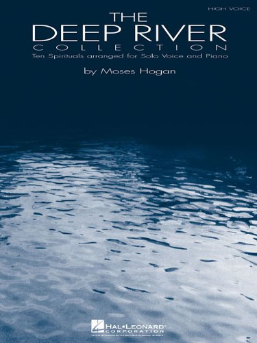 Deep River Collection Ten Spirituals for Solo Voice and Piano N/A edition cover