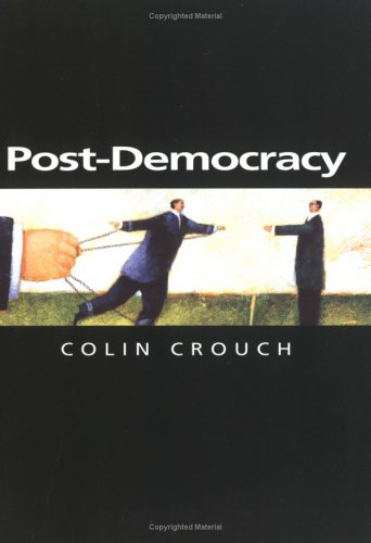 Post-Democracy   2004 edition cover