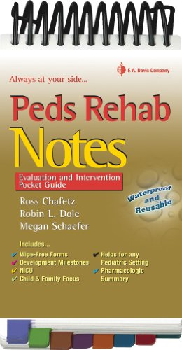 Peds Rehab Notes Evaluation and Intervention Pocket Guide Revised  edition cover