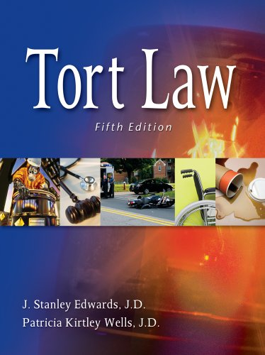 Tort Law  5th 2012 edition cover