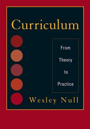 Curriculum From Theory to Practice  2011 edition cover