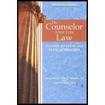 Counselor and the Law A Guide to Legal and Ethical Practice  2012 edition cover
