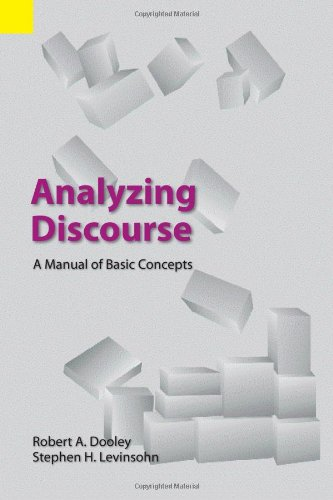 Analyzing Discourse A Manual of Basic Concepts  2001 9781556711152 Front Cover