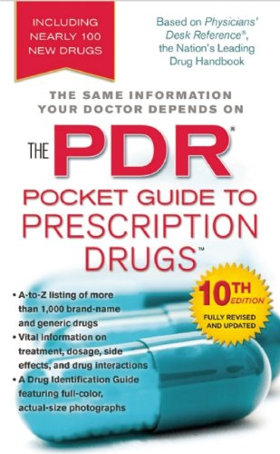 PDR Pocket Guide to Prescription Drugs  10th 2012 edition cover