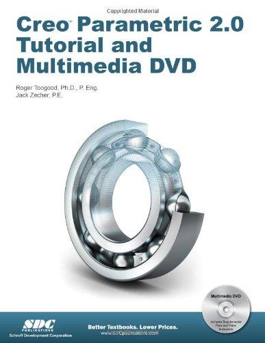 Creo Parametric 2. 0 Tutorial  N/A edition cover