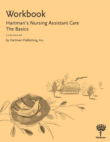 Workbook to Hartman's Nursing Assistant Care The Basics 3rd edition cover