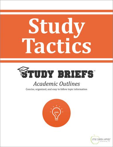 Study Tactics cover