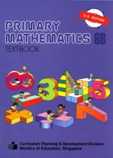 PRIMARY MATHEMATICS 6B-TEXTBOO N/A edition cover