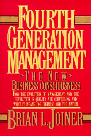 Fourth Generation Management The New Business Consciousness  1994 edition cover