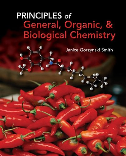 Principles of General, Organic, and Biological Chemistry   2012 edition cover