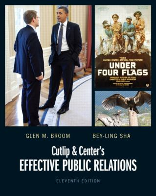 Cutlip and Center's Effective Public Relations  11th 2013 (Revised) edition cover