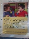 Very Young Children with Special Needs A Foundation for Educators, Families, and Service Providers 5th 2014 edition cover