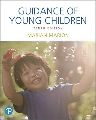 Guidance of Young Children:   2018 9780134748153 Front Cover