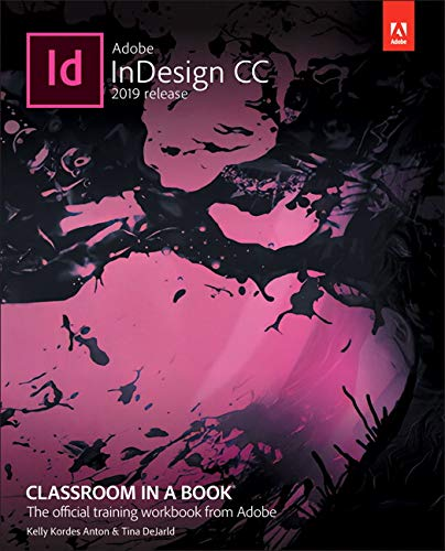 Adobe Indesign CC Classroom in a Book   2019 9780135262153 Front Cover