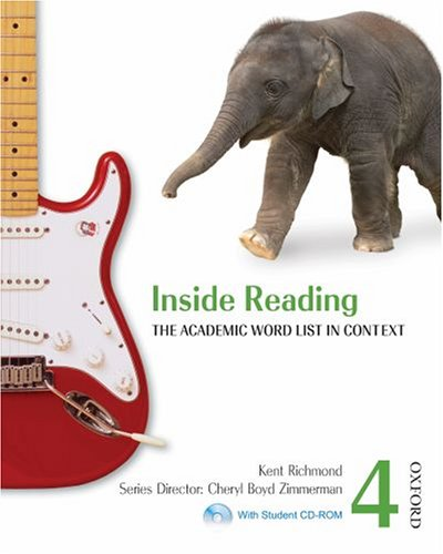 Inside Reading, Level 4 The Academic Word List in Context Student Manual, Study Guide, etc.  9780194416153 Front Cover