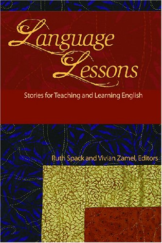Language Lessons Stories for Teaching and Learning English N/A 9780472031153 Front Cover