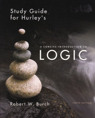 Concise Introduction to Logic: 10th 2007 edition cover