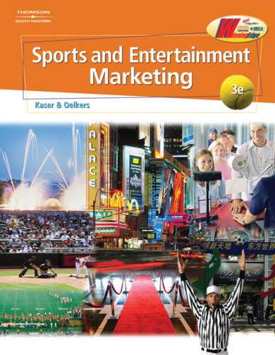 Sports and Entertainment Marketing  3rd 2008 (Revised) 9780538445153 Front Cover