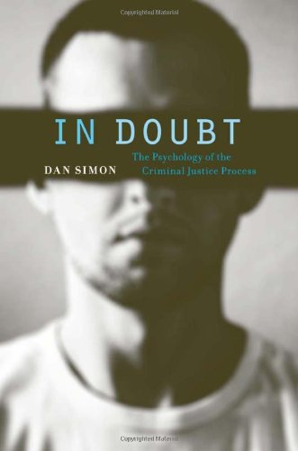 In Doubt The Psychology of the Criminal Justice Process  2012 edition cover