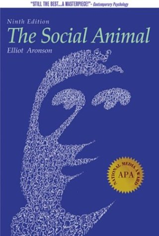 Social Animal  9th 2004 edition cover