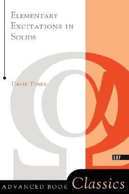 Elementary Excitations in Solids   1999 (Revised) 9780738201153 Front Cover