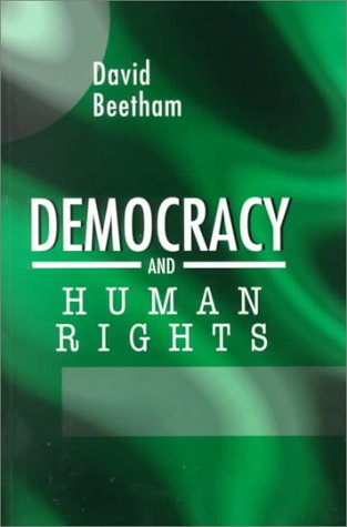 Democracy and Human Rights   1999 9780745623153 Front Cover