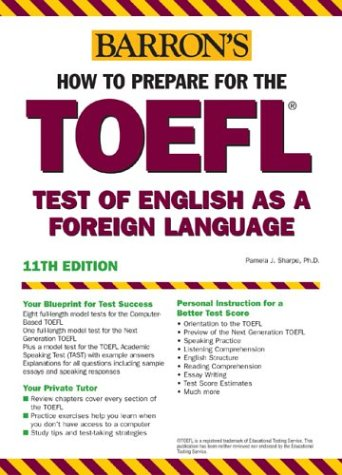 How to Prepare for the TOEFL  11th 2004 9780764123153 Front Cover