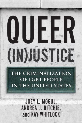 Queer (In)Justice The Criminalization of LGBT People in the United States  2012 edition cover