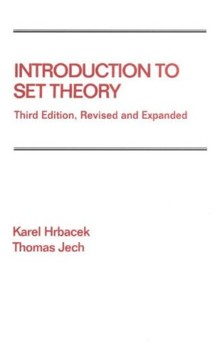 Introduction to Set Theory  3rd 1999 (Revised) edition cover