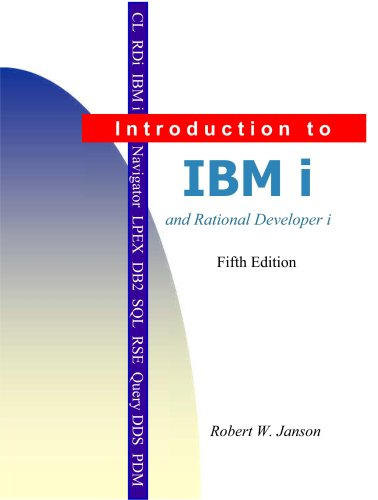 Introduction to IBM i and RDi  N/A edition cover