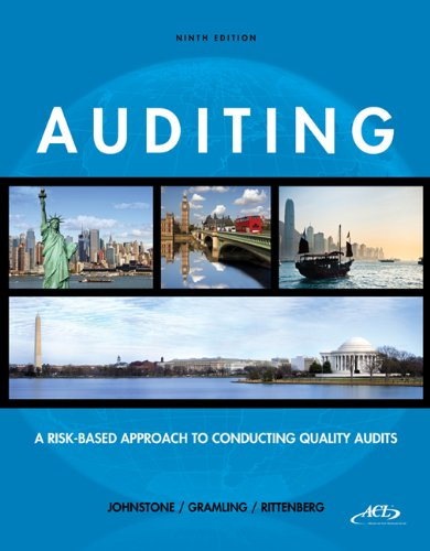 Auditing A Risk-Based Approach to Conducting a Quality Audit 9th 2014 edition cover